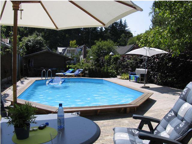 Ik koos voor een houten zwembad bij bodyfit sven gerrits for Zwembad zelfbouwpakket